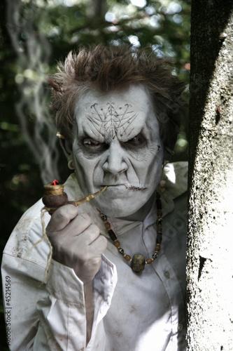 Zombie im Wald