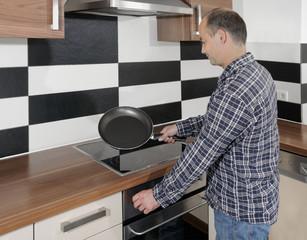 Pfanne Küche 6-7
