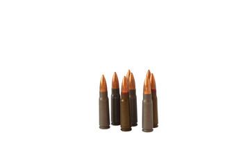 Set of standing cartridges