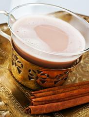Gewürz - Tee mit Milch