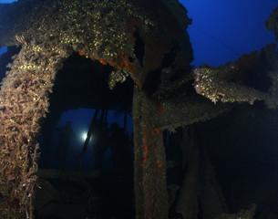 relitto nave moak deer liguria portofino liguria