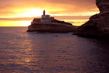 Tramonto a Bonifacio - Corsica