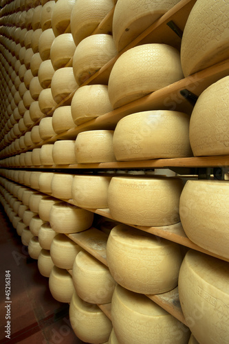 hard cheese on shelves