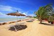 Saly's beach in Senegal