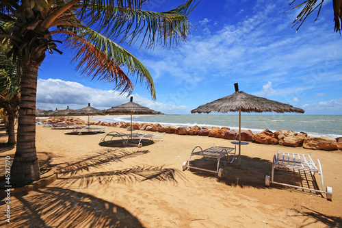 Staande foto Afrika Saly's beach in Senegal