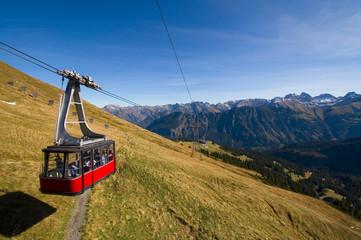 Seilbahn am Fellhorn - Allgäuer Alpen - Deutschland