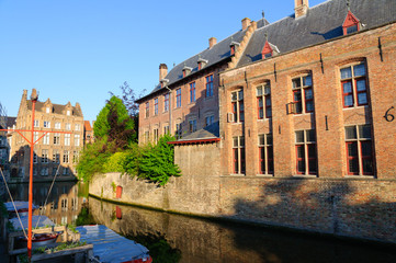 Old Town of Bruges, Belgium