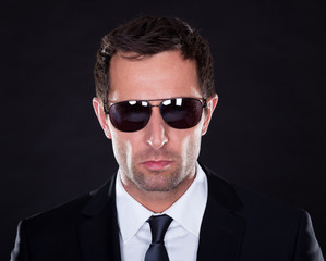 Portrait Of Young Man With Sunglasses