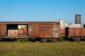 Rusty wagons