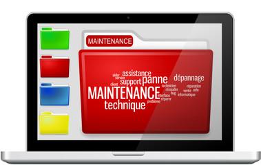 Ordinateurs et Dossier Maintenance
