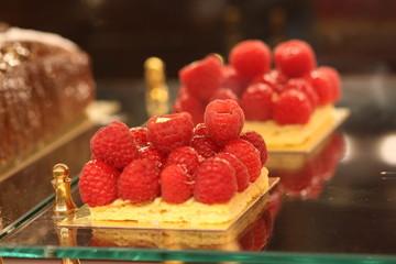 Delicious Beautiful Raspberry Dessert