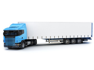 Commercial Large truck with room for copy space