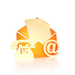Contact us, via mail , internet, and phone