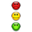 Smiley Button Ampel
