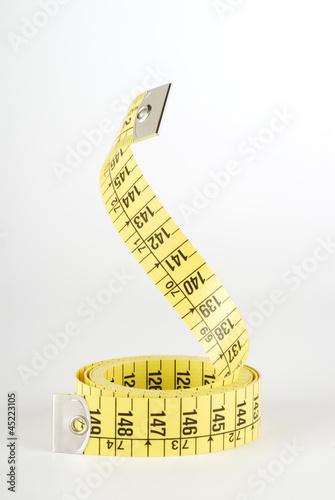 Cinta de medir en vertical