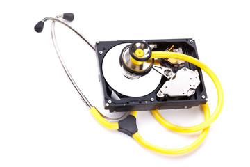 Hard Disk and Sthetoscope 3