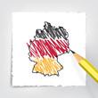 Deutschland Skizze