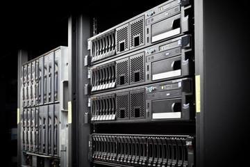 Server Rack hard disks