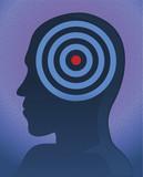 head target vector poster