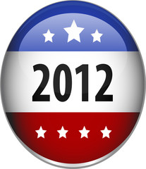 illustrated image of a glossy 2012 badge