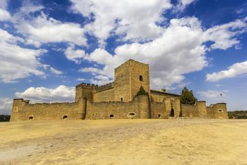 View of Castle of Pedraza, Segovia, Castilla-Leon, Spain