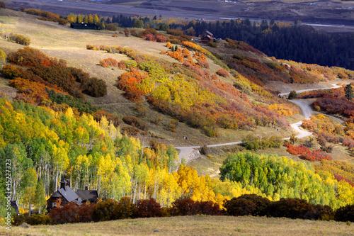 Scenic last dollar road in Colorado