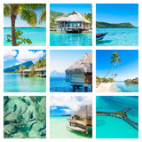 Mosaic of paradise photos