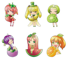 Fruit Girl collection
