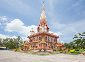 Wat Chalong temple Phuket
