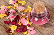 Rose petals, wellness