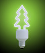 Christmas tree light bulb
