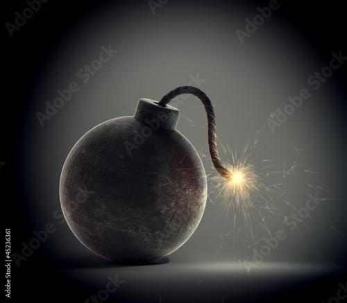 Vintage bomb