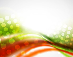 Smooth wave colorful background