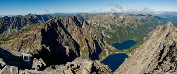 Tatry - panorama