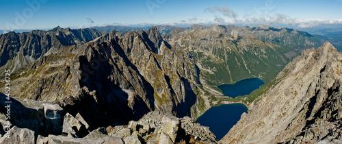 Tatry - panorama © Marcin Mrówka