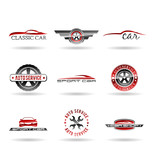 Car service and Repairing icon set. Vol 1.