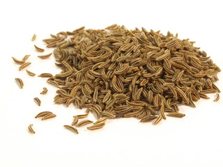 Caraway, isolated