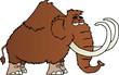 ������, ������: Mammoth Cartoon Character