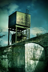 old factory tower