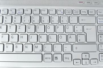 Helle Tastatur (formatfüllend)