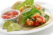 shrimp tacos, mexican cuisine
