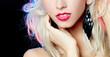 luxurious blonde