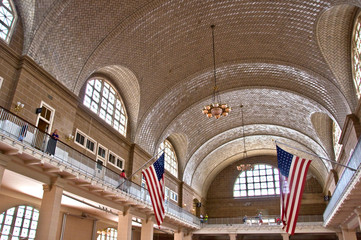 Ellis Island, Grand Hall - New York