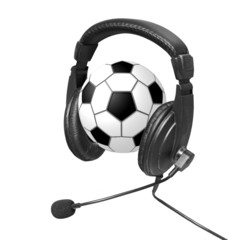 Audio ball sports football