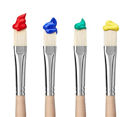paint brush art and craft