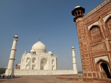 Taj Mahal and its guest house