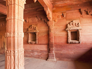 Interiors of Fatehpur Sikri, India