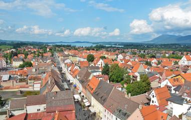 Fussen,citta del'allgau Germania 2