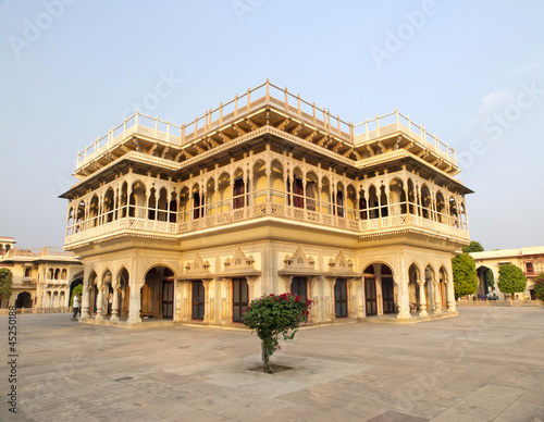 Mubarak Mahal in the City Palace of Jaipur