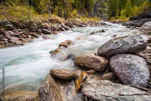Val Veny, Italy - Mountain Stream